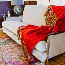 Eclectic Living Room by CADMIUM INTERIORS LLC