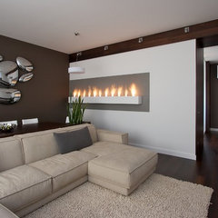 contemporary living room by SVOYA studio