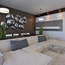 Contemporary Living Room by SVOYA studio
