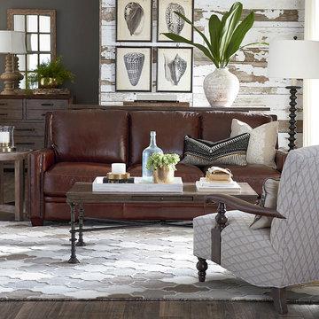 Meridian Sofa by Bassett Furniture