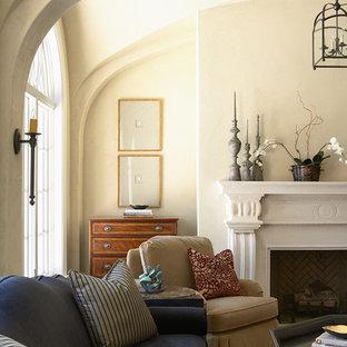 Elegant living room photo in Minneapolis