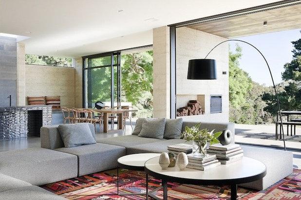 Contemporary Living Room Merricks