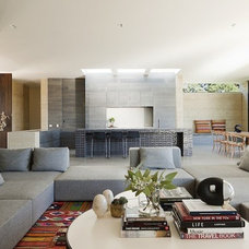 Contemporary Living Room by Robson Rak Architects Pty Ltd