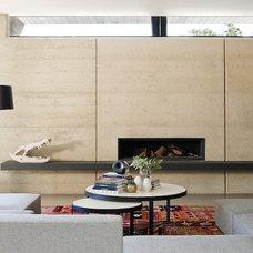 Contemporary Living Room by Robson Rak Architects Pty Ltd