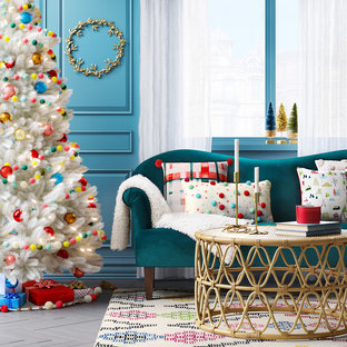 Merry & Bright Bohemian Living Room Ideas Collection