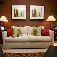 Traditional Living Room by Mesa Management