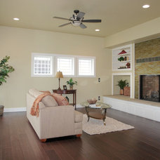 Traditional Living Room by Bungalow House Plans