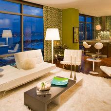 Contemporary Living Room by Robin Wilson Interior Design