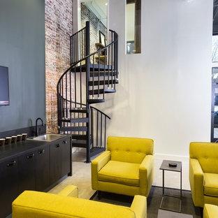 Small modern living room in Birmingham.