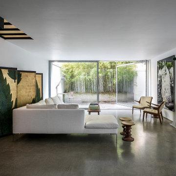 Mews house Living room