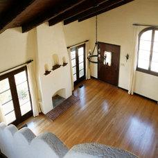 Mediterranean Living Room by Andersen Miller Design