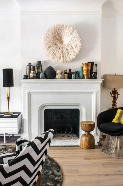 Contemporary Living Room by Stephani Buchman Photography