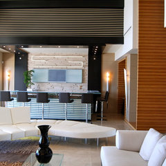 contemporary living room by Pepe Calderin Design- Miami Modern Interior Design