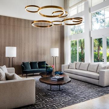 Miami House Living Room
