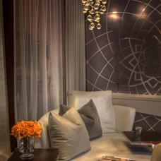 Modern Living Room by Jorge Castillo Design Inc.