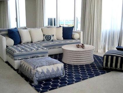 Modern Living Room by Michele Safra
