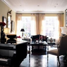 Eclectic Living Room by Michael Menn Ltd.