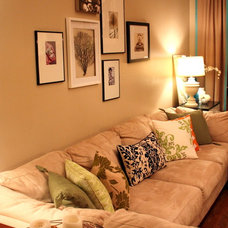 Eclectic Living Room by Michelle Edwards