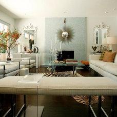 Modern Living Room by Woodson & Rummerfield's House of Design