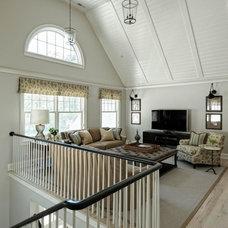 Traditional Living Room by jamesthomas, LLC