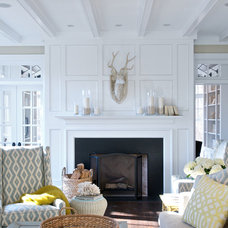 traditional living room by David Fleener Architects, Inc.