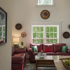 Traditional Living Room by Crisp Architects