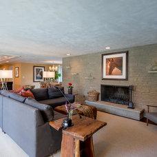Midcentury Living Room by Design Details Unlimited