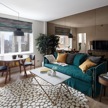 Mid Century Apartment in the City of London