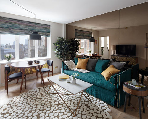 Small Living Room Design Ideas collect this idea 2 sets of mirrors Small Living Room Design Ideas Remodels Photos Houzz