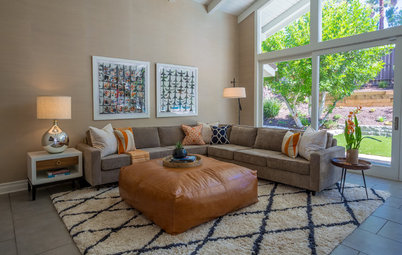 Midcentury-Modern Family Home Gets a Retro Refresh