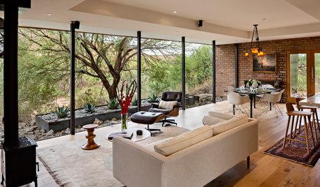 Architect's Modern Desert Home Showcases the Natural Landscape