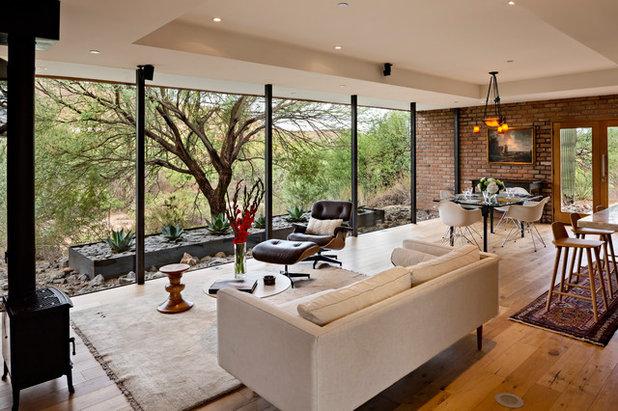 Midcentury Living Room by Greey Pickett