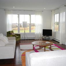 Contemporary Living Room by studio m  |  design
