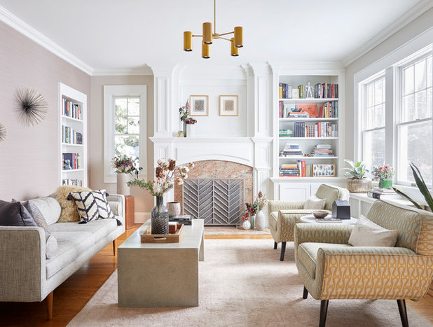 New This Week: 3 Stylishly Decorated Living Rooms