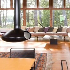 midcentury living room by Hammer Architects