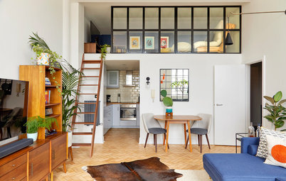 Houzz Tour: An Edwardian Flat with Midcentury Appeal