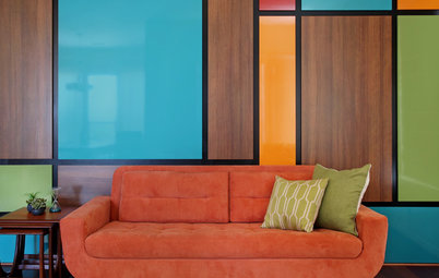 Double Take: How Did They Make That Mondrian-Inspired Wall?