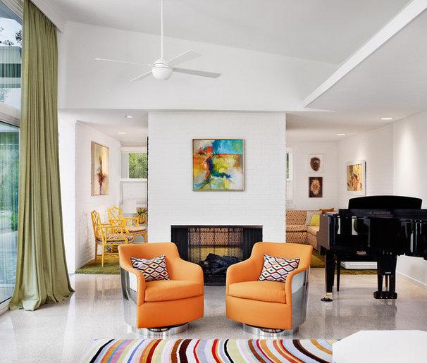 Modern Living Room by Baxter Design Group