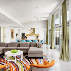 modern living room by Baxter Design Group
