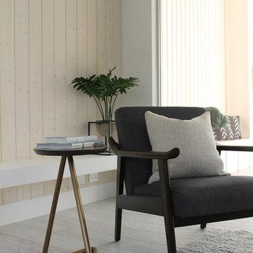 Mid Century Modern Chair in Hygge LA Home