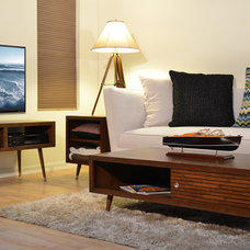 Modern Living Room by Woodwaves Inc.
