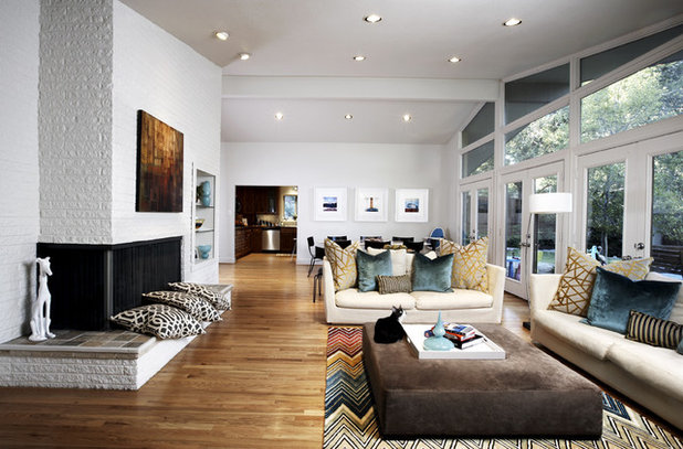 Mid-Century Wohnbereich by Beth Dotolo, ASID, RID, NCIDQ