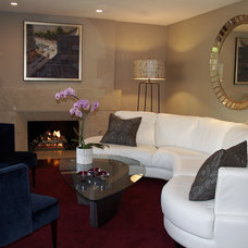 Modern Living Room by Environments Design Group, Inc