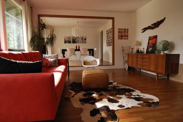 Modern Living Room Mid-century modern living room