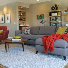 Midcentury Living Room by Madison Modern Home