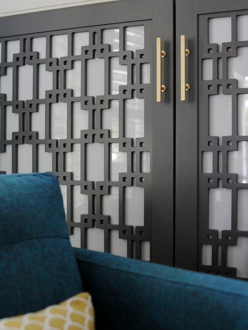 Mdf Laser Cut Jali Living Room Design Ideas Renovations Photos