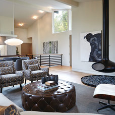 Midcentury Living Room by New Urban Home Builders