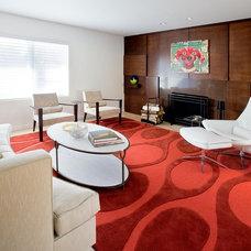 Modern Living Room by Pavilack Design