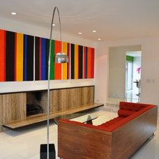 Modern Living Room by Brion Jeannette Architecture