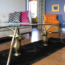 Midcentury Living Room by Kimball Starr Interior Design